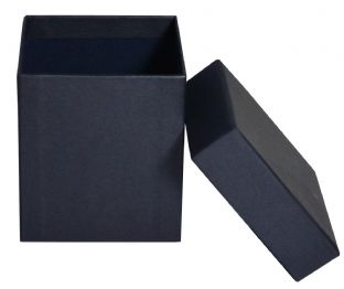 30cl Candle Box - Rigid - BLACK